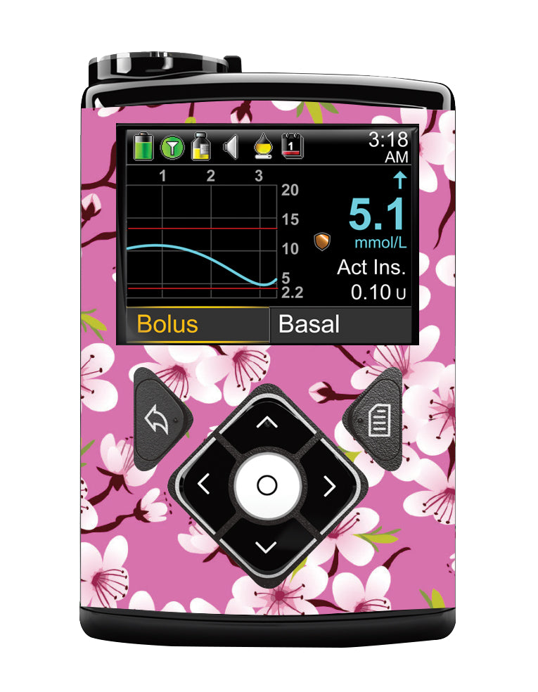 Medtronic 640G Cover (Cherry Blossom)