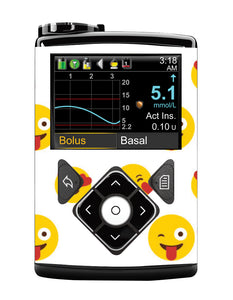 Medtronic 640/670G Cover (Emojis)