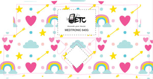 Medtronic 640/670G Cover (Rainbows)