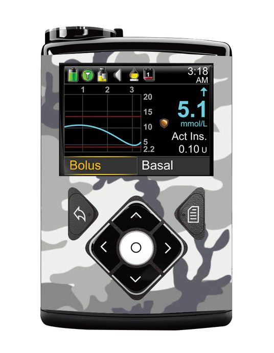 Medtronic 640G Cover (Snow Camo)
