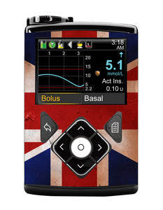 Medtronic 640G Cover (Union Jack)