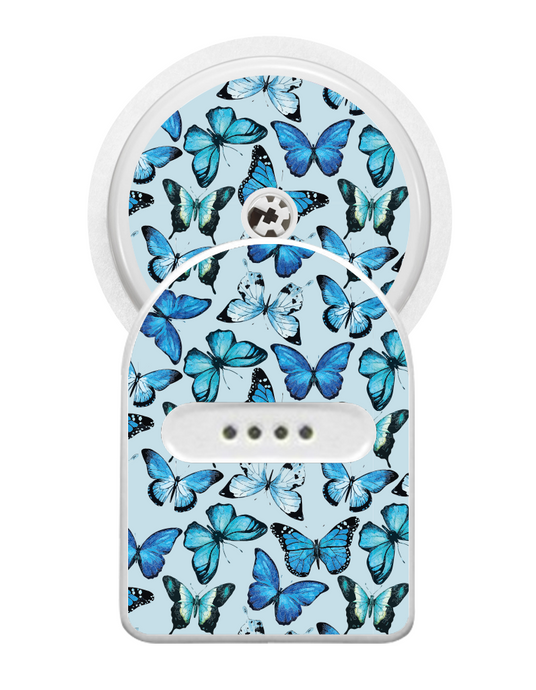 Miao Miao Sticker (Butterfly Blue)