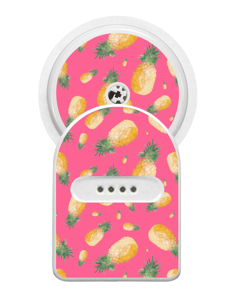 Miao Miao Sticker (Pink Pineapples)