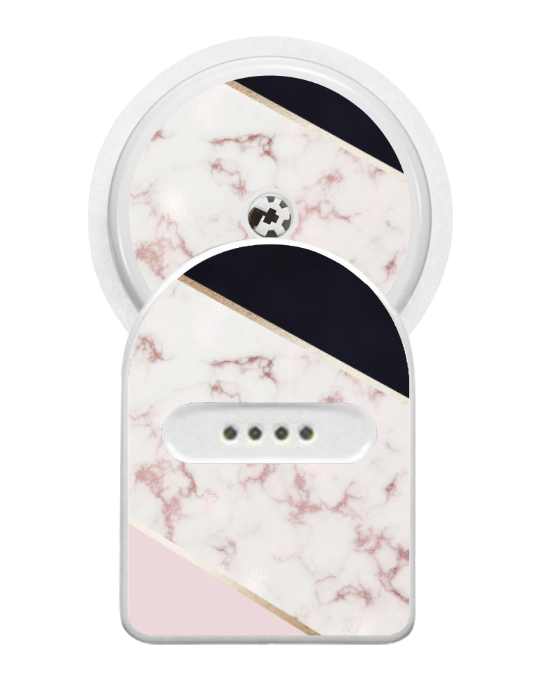 Miao Miao Sticker (Blush Marble)