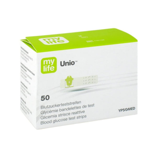 MyLife Unio Blood Glucose Test Strips - Pack of 50