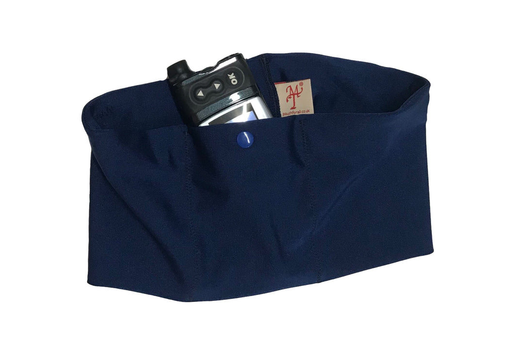 Navy Pump Waist Band Pouch