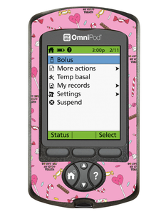 Omnipod PDM Cover (Hypo Treats)