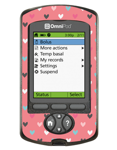 Omnipod PDM Cover (Heart to Heart)