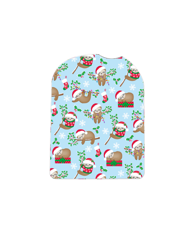 Omnipod Cover (Sloth Santas)