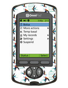 Omnipod PDM Cover (Birdcage)