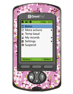 Omnipod PDM Cover (Cherry Blossom)