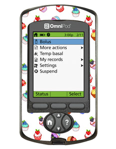 Omnipod PDM Cover (Cupcakes)
