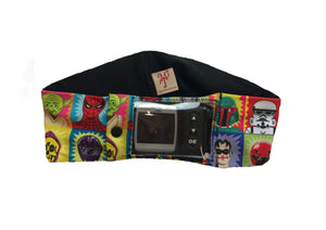 Superheroes & Villains Super Slim Window Pump Waist Band Pouch