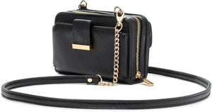 Myabetic Tina Mini Crossbody - Black