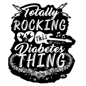 """Totally Rocking..."" - Vinyl Decal Sticker"