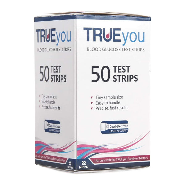 TRUEyou Blood Glucose Test Strips - Pack of 50