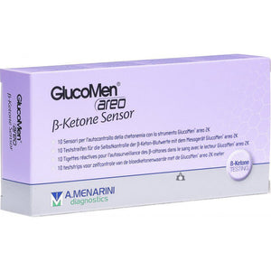 GlucoMen Areo Beta Ketone Sensors - Pack of 10