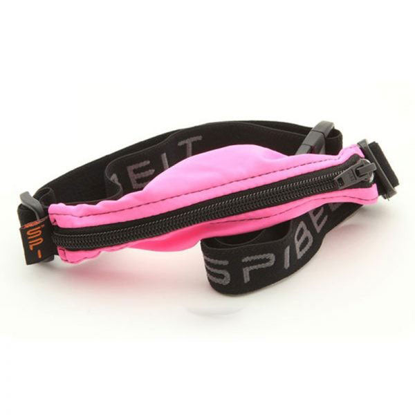 SPIbelt Diabetic Hot Pink with Black Zipper