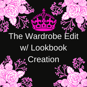 The Wardrobe Edit with Lookbook Creation