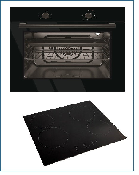 CKPK5 PowerPoint Oven and Ceramic Hob Pack