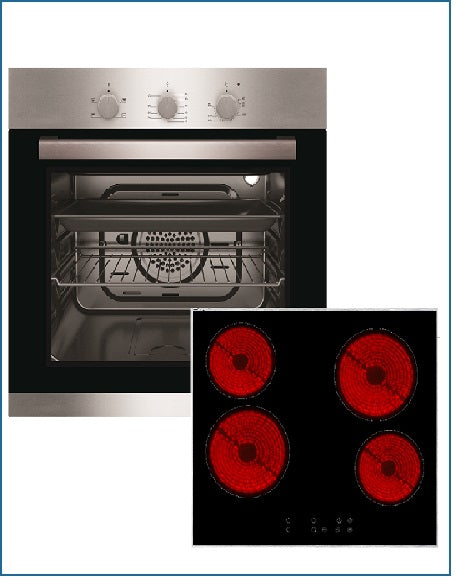 CKPK6 PowerPoint Oven and Ceramic Hob Pack
