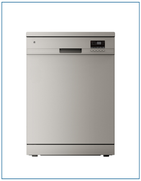 P2612ELGSL PowerPoint 12 Place Silver Dishwasher