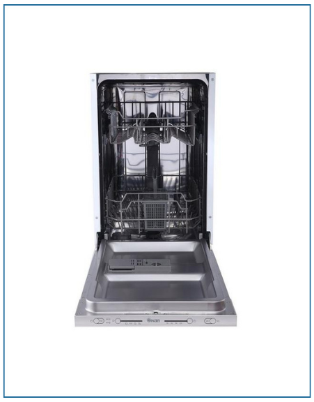P3410MINT PowerPoint 45cm Integrated Dishwasher