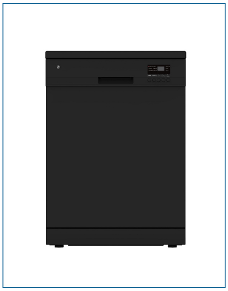 P2612ELGBL PowerPoint 12 Place Black Dishwasher