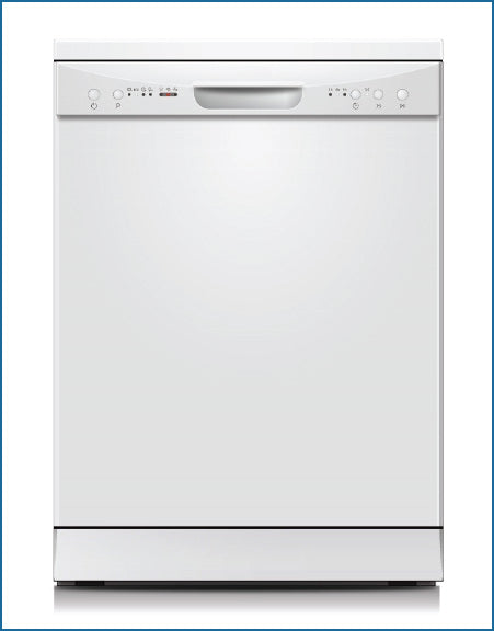 60cm 12 Place Dishwasher White