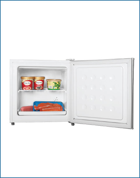 P1245TTFMDW PowerPoint 32 LT TABLE TOP FREEZER WHITE