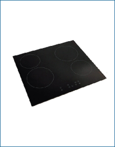 P154CZTC/T 4 PowerPoint 4 Zone Touch Control Frameless Ceramic Hob