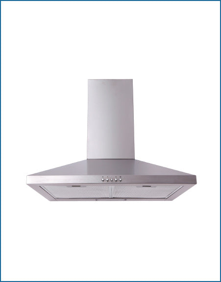 PowerPoint P21561XBSS Stainless Steel 60cm Chimney Hood