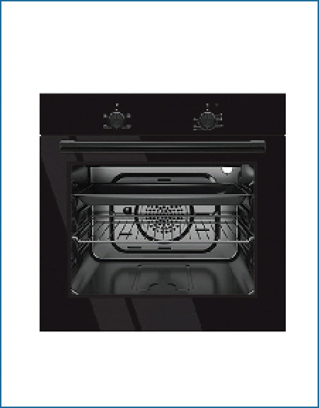PowerPoint P24EFSBL Single Built In Oven