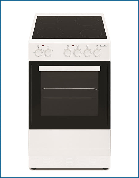 P05C1S1W PowerPoint 50cm Single Cavity with Ceramic Hob