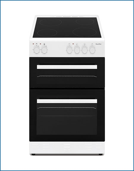 P05C2SWH PowerPoint 50cm Double Cavity with Ceramic Hob