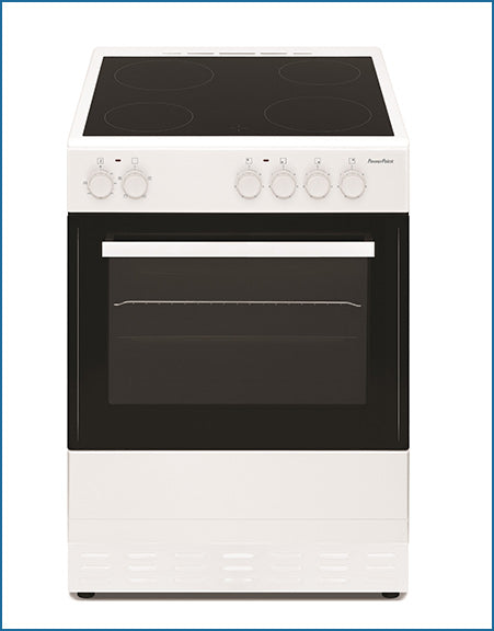 P06C1S1W PowerPoint 60cm Single Cavity with Ceramic Hob