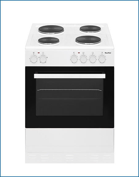 P06E1S1W PowerPoint 60cm Single Cavity with Solid Hob