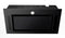 Black Glass Canopy Cooker hood P2120XCGB