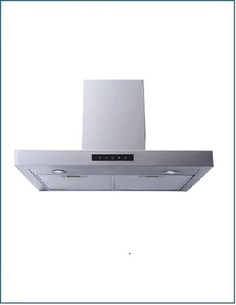 Stainless Steel 60cm T-Bar Design Cooker Hood P2160XTBSS