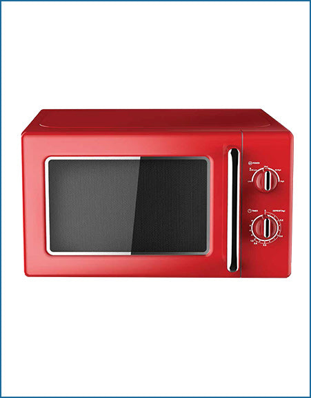 P22720MRRD PowerPoint Retro Style Microwave