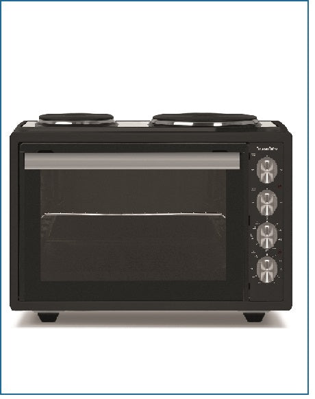 P22MSHPB PowerPoint Mini Oven with Hot Plates