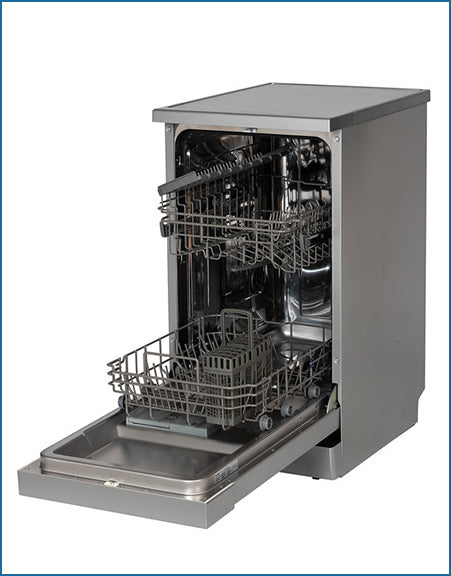 P24510M6SL PowerPoint 45cm 10 Place Dishwasher Silver