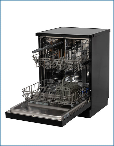 P2614MBL PowerPoint 60cm 14 Place Dishwasher Black