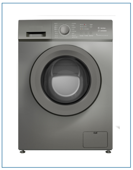 P35106SKINOX PowerPoint 6kg 1000rpm A++ Washing Machine