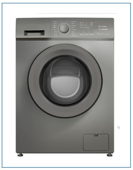P35128SKINOX Powerpoint 8kg 1200 RPM A+++ Washing Machine