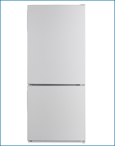 P64864MSFW PowerPoint SMART FROST 48 X 114 60/40 WHITE Fridge Freezer