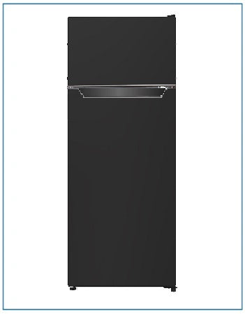 P75562MLBL-2 PowerPoint Black Fridge Freezer