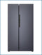 P9466SKINOXCP PowerPoint Side by Side Inox American Style Fridge Freezer