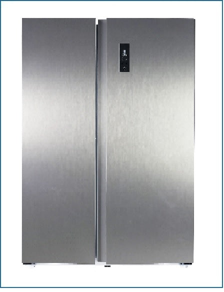 P9630MINOX PowerPoint 912 x 1770mm American Style Fridge Freezer