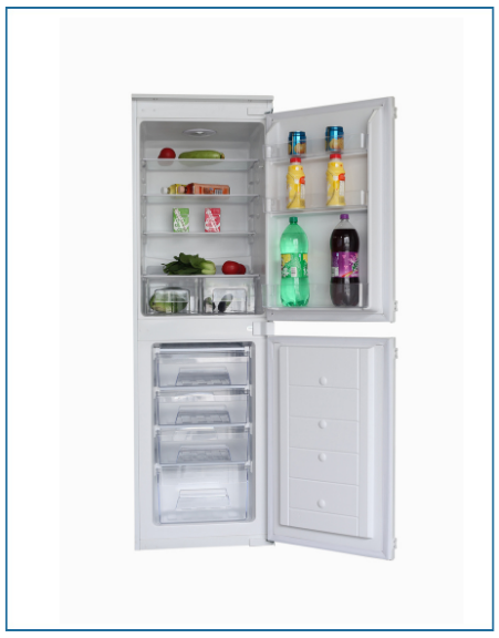 P85050EMBI PowerPoint 50/50 Integrated Fridge Freezer
